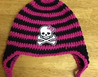 Monsters High Crochet Hat