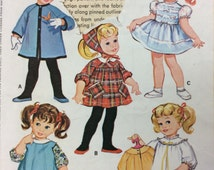 RARE - Vintage Chatty Cathy Doll Clothes - Talking Doll's Wardrobe - Vintage McCall's  Sewing Pattern 7181 **UNCUT