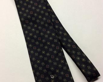 CHRISTIAN DIOR Monsieur Necktie Polyester/Silk