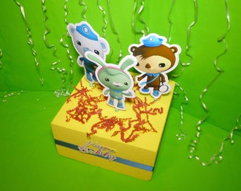 Octonauts Toppers/Centerpieces by WonderFullyLinked