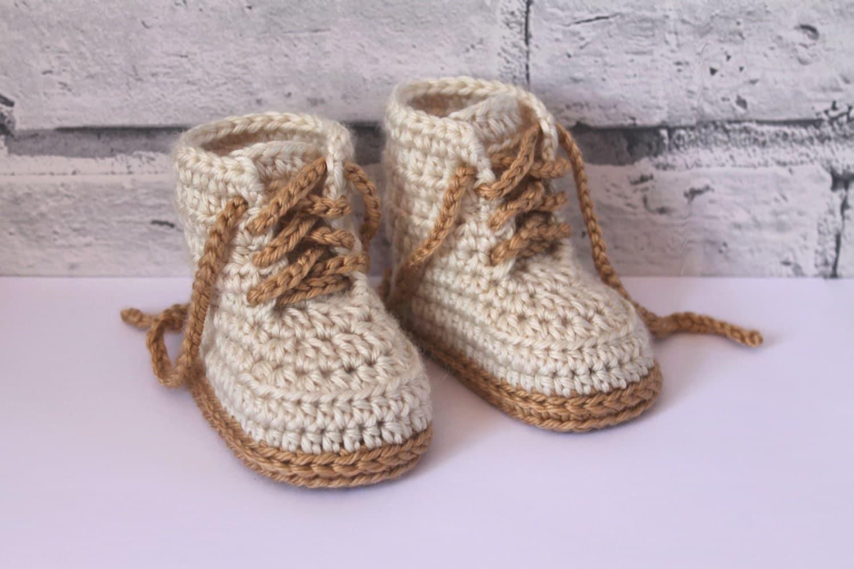 Crochet combat boots | Etsy
