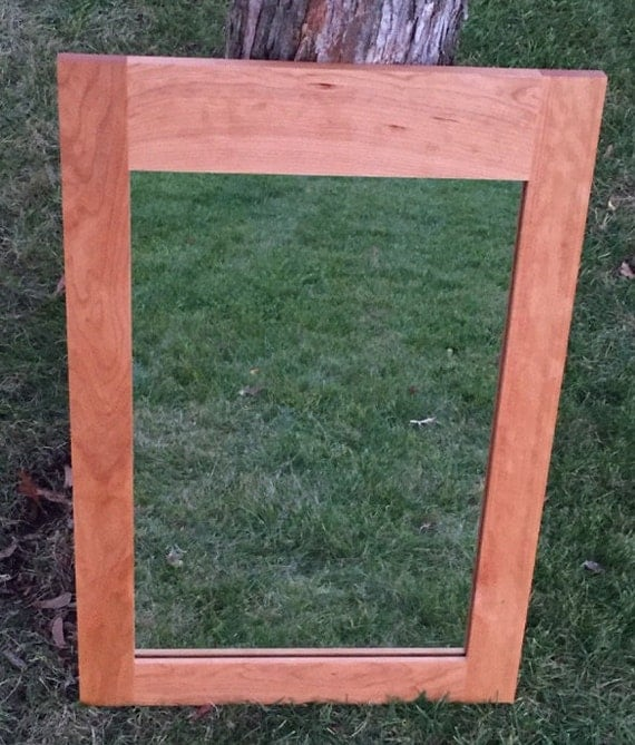 cherry wood bathroom mirror cherry framed mirror bathroom mirror bedroom mirror 17735