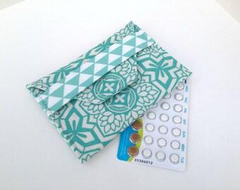 Birth Control Case / Pill Cozy - Birth Control sleeve / ID Wallet