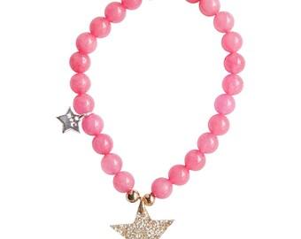 Star Kids Bracelet,Natural Stone Bracelet, Kids Bracelet, Star Bracelet