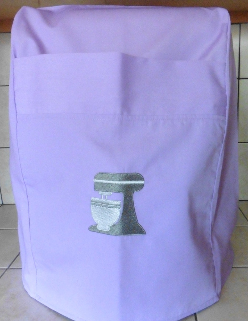 Professional 600 Kitchenaid Mixer Cover Lilac With Embrioded