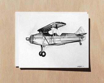 Airplane Card - Airplane Birthday Card