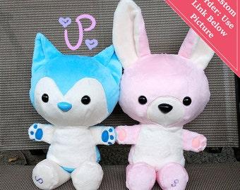 Custom Stuffed Animal Plushie