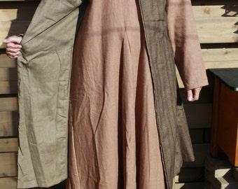 Sleeveless viking warriors coat