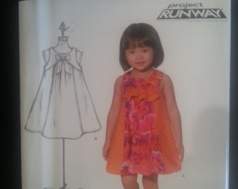 New Look 6115 Toddlers Dress / Bubble Dress sewing pattern sizes 1/2-1-2-3-4