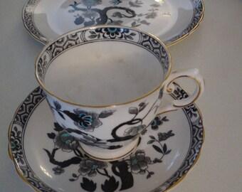 Tuscan Fine English Bone China Black Forest Pattern