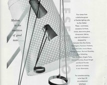 Raymor Advertisement for Four Lamps by Ben Seibel, 1951