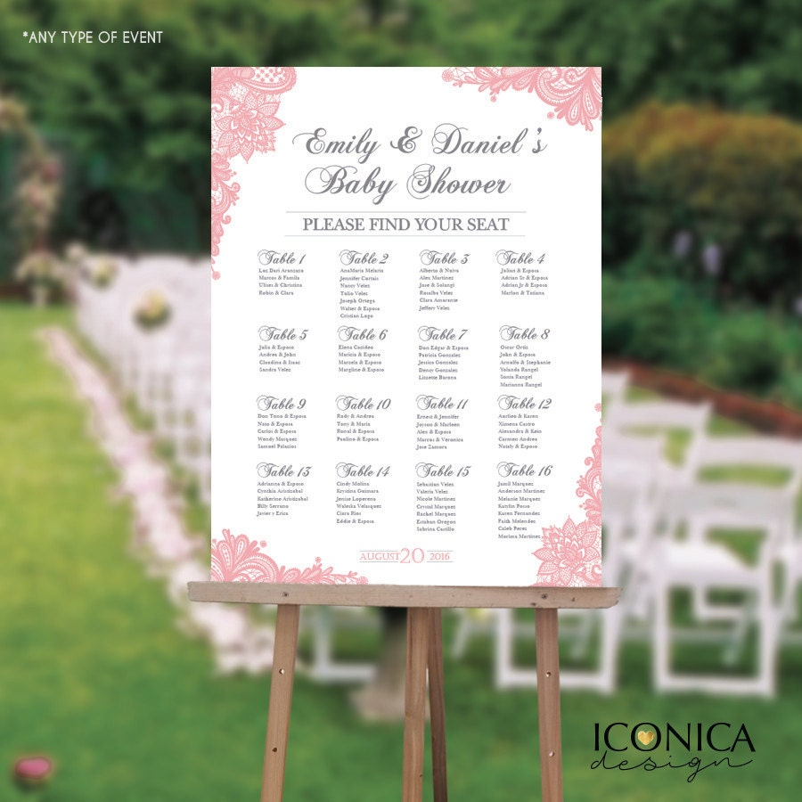 Baby Shower Seating