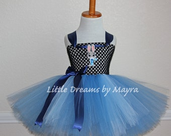 Lt. Judy Hopps inspired tutu dress, Zootopia birthday party inspired costume, Judy Hopps inspired outfit size nb to 12years