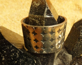 Turkmen Silver Ring.....size 12 only