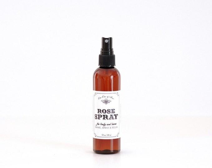 Rose Spray ~ aromatic spray for home & body