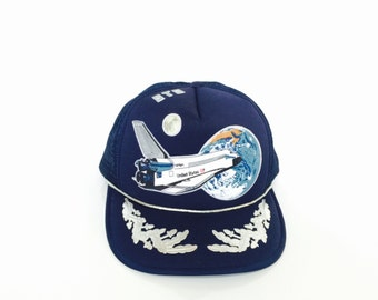 Vintage NASA Space Shuttle United States Hat