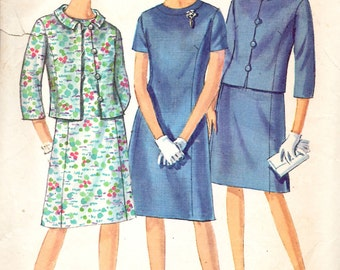 Simplicity 6948 Misses and Women's One-Piece Dress and Jacket Sewing Pattern
