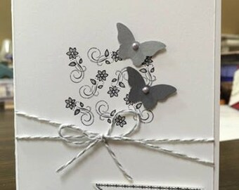 Congratulations Card in Handmade