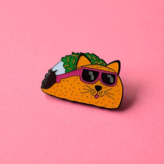 taco cat pin