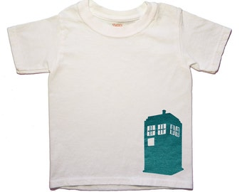 Dr. Who, Toddler Tee, TARDIS, T-shirt