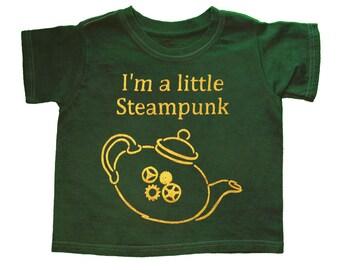 I'm a Little Steampunk, Kids Shirt, Steampunk