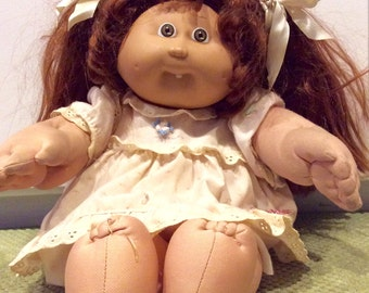1986 Cabbage Patch Kids Cornsilk Doll With Teeth, Coleco CPK, Cabbage Patch, Vintage Cabbage Patch Kid, Cornsilk Cabbage Patch Kid, OAA