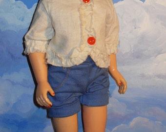 "Vintage 1950s 19""  Miss Revlon type Fashion Doll  14R"
