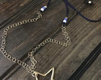 Dallas cowboys adjustable necklace