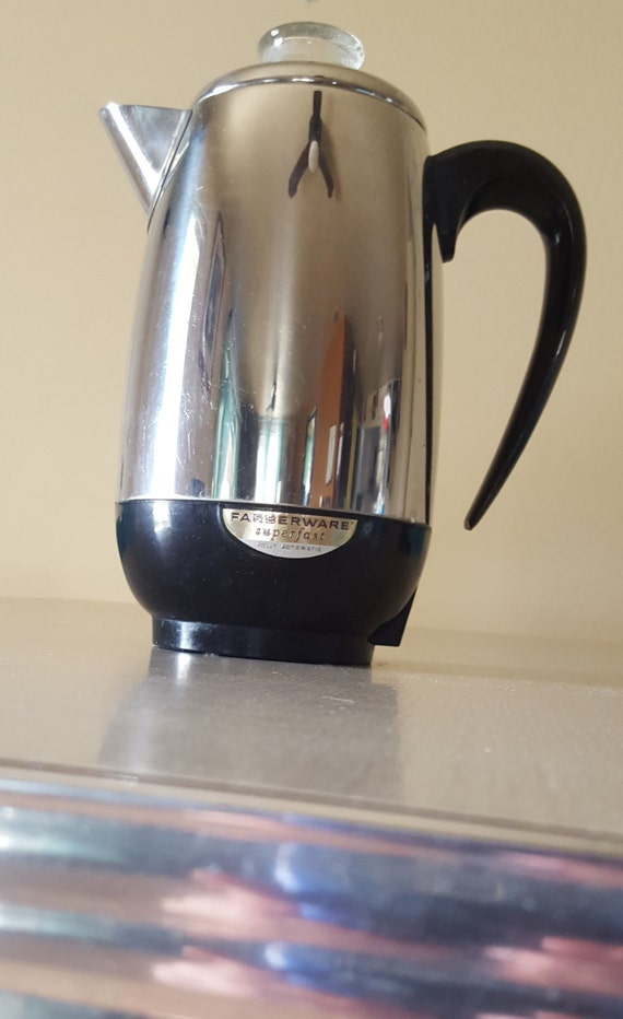 Items similar to Vintage Farberware coffee maker superfast fully automatic electric percolator ...