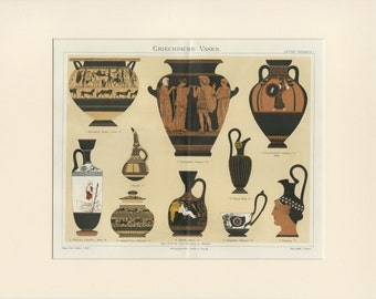 Greek vases Etsy