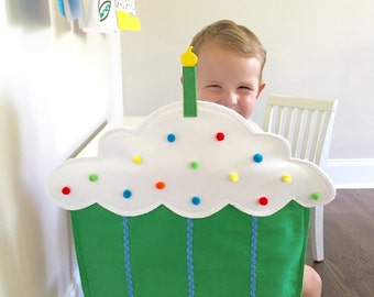 Cupcake Chair Cover for Child's Seat