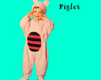 Piglet Costume Size1/2 to 4