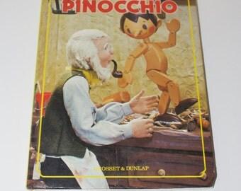 Pinocchio A Puppet Storybook by Ozawa Hijikata, Grosset & Dunlap 1970