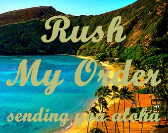 Rush My Order - Love Story Maps