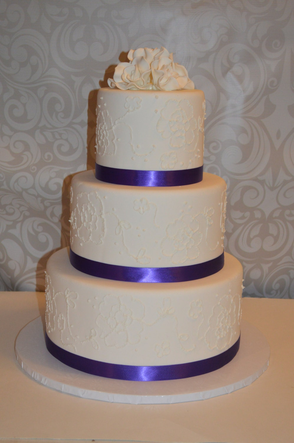 3 Tier Faux Wedding Cake Fake Wedding Cake Dispaly Wedding