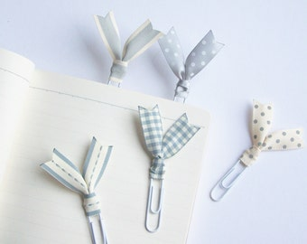 white, cream, grey, desk accessories, 2018 planner, gift idea, coworker gift, planner accessories, planner clips