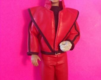 Michael Jackson Vintage Doll