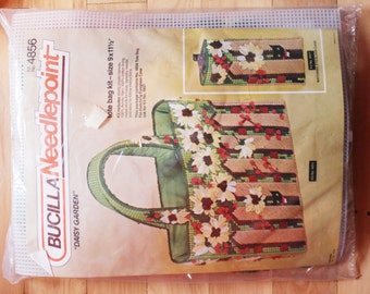 unOpened Bucilla Needlepoint - 4856  Tote bag with Matching Eyeglass Kit