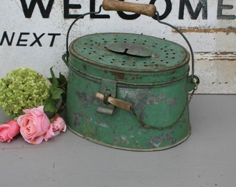 French Metal Lunch Pail