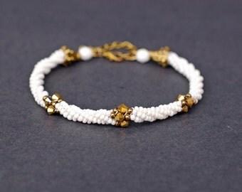 Herring Spiral Bracelet