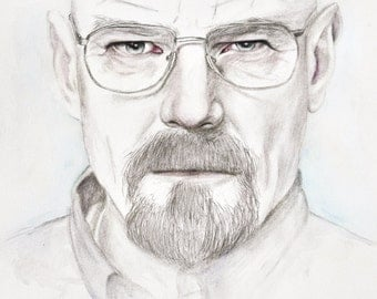 Walter White - Limited Edition Watercolour Print