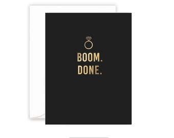Groomsman card | Will you be my Groomsman Card | Gold foil | Groomsman gift | Wedding Party Cards | Best Man Card | Gold Foil Card