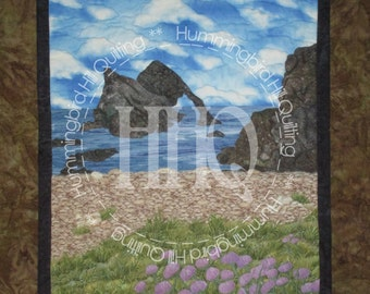 By The Seal's Isle: A Landscape Quilt