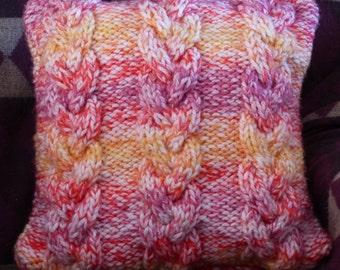 Super soft knit cushion cover
