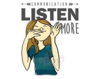 Quote illustration: Communication
