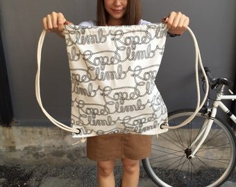 Ropes Backpack Tote