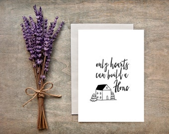New Home Card/Housewarming Greeting Card