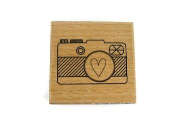 Camera Rubber Stamp | Shutterbug Stamp | Photography Stamp | Picture Stamp | Photo Rubber Stamp | Vintage Camera Stamp