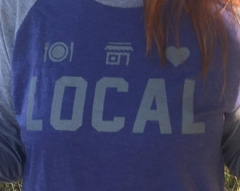 Eat Shop Love Local Shirt