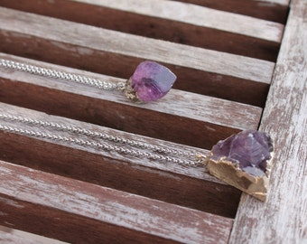 Amethyst Agate Necklace